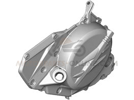 Crankcase cover Clutch side